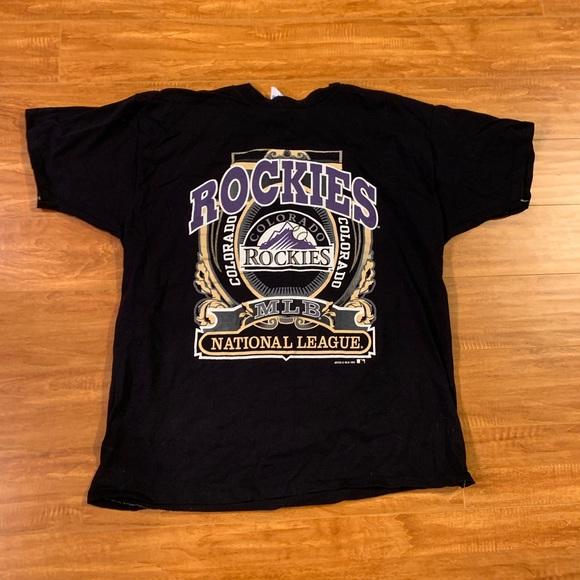 buy popular da6e1 7c6a6 Vintage Colorado Rockies Shirt